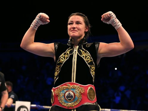 Katie Taylor remains champion (Richard Sellers/PA)