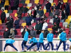 The Championship, League One and League Two play-offs will have fans in attendance, the EFL announced on Tuesday (Tess Derry/PA)