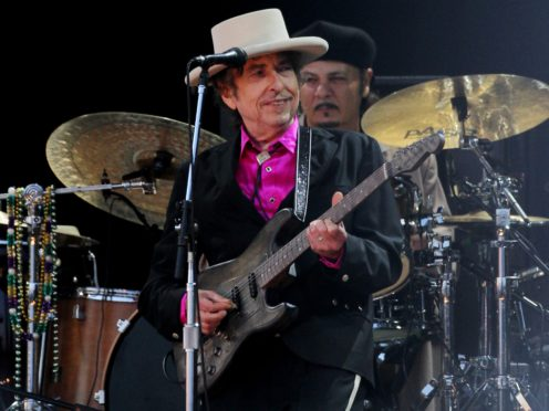 Bob Dylan (Gareth Fuller/PA)