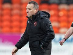 Dundee Utd manager Micky Mellon has had enough of playing in front of empty houses (Willie Vass/PA)