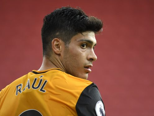 Raul Jimenez is hoping for a chance to return to action this season (Peter Powell/PA)