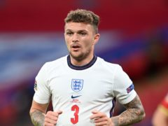 Kieran Trippier is excited by England's quality (Michael Regan/PA)