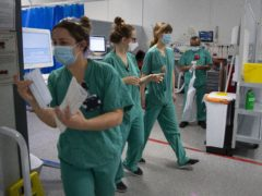 Public believes there are too few nurses to provide safe care – RCN report (Victoria Jones/PA)