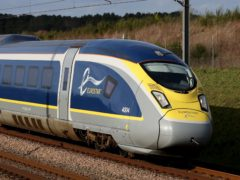 Eurostar has secured a £250 million rescue package after being badly hit by the coronavirus crisis (Gareth Fuller/PA)
