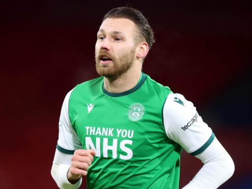 Hibernian's Martin Boyle is keen to bring the Scottish Cup home (Jeff Holmes/PA)