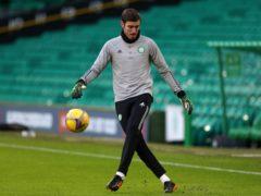 Celtic's Vasilis Barkas can have a fresh start next season says John Kennedy (Andrew Milligan/PA)