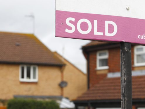 Nearly half of recent first-time buyers have had a house purchase fall through, according to a survey (Chris Ison/PA)