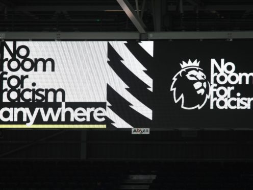 The Premier League was among those to go silent on social media (Mike Hewitt/PA)