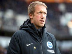 Brighton boss Graham Potter has been linked with Tottenham (Nick Potts/PA)