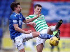 Craig Bryson, left, has signed a new deal at St Johnstone (Ian McNichol/PA)