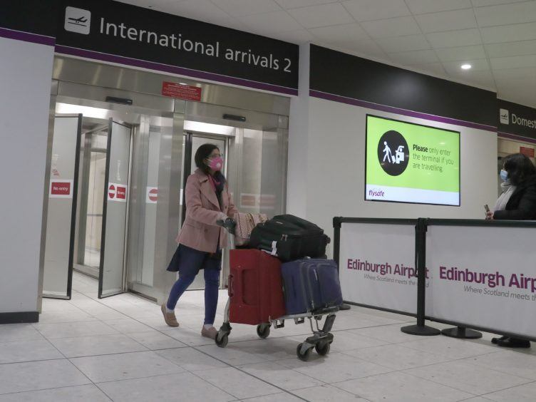Aviation groups and airports have warned the Scottish Government about the comparatively high cost of coronavirus testing for passengers arriving in Scotland (Andrew Milligan/PA)