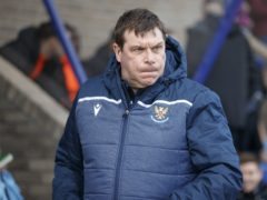 Tommy Wright's side are second bottom (Steve Welsh/PA)