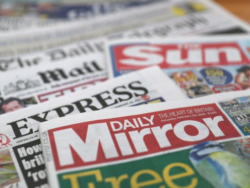 What the papers say – May 27 (PA)