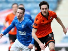 Dundee United's Liam Smith is excited about the cup semi-final (Jane Barlow/PA)