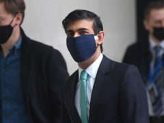 Rishi Sunak said a deal is 'to be had' on global tech tax reform (Victoria Jones/PA)