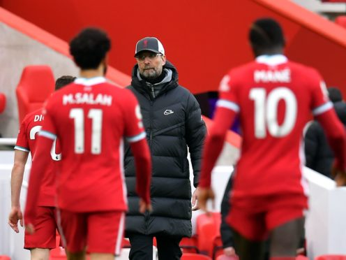 Liverpool manager Jurgen Klopp has done extra work to try to solve their issues in front of goal (Paul Ellis/PA)