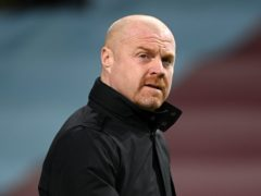 Sean Dyche's Burnley are nine points above the relegation zone (Michael Regan/PA)