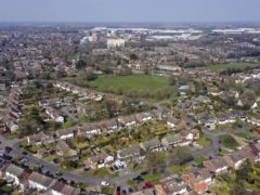 Houses in Hemel Hempstead. The average price tag on a home in Britain has reached one third of a million pounds, according to Rightmove (Steve Parsons/PA)