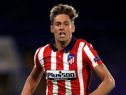 Marcos Llorente was on target for Atletico (Adam Davy/PA)