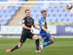 Josh Daniels could return for Shrewsbury (Barrington Coombs/PA)