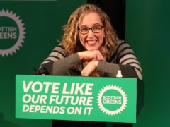 Scottish Greens co-leader Lorna Slater (Andrew Milligan/PA)