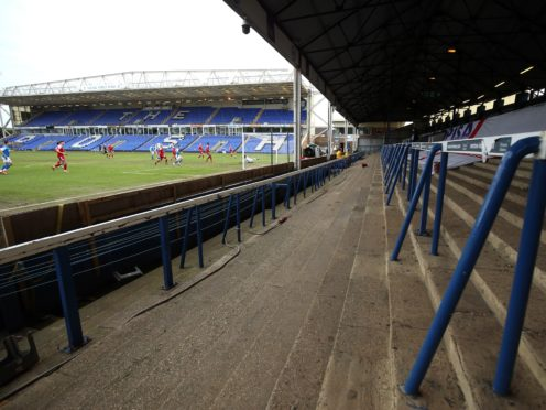Fans will be allowed to stand on the terrace at Peterborough's Weston Homes Stadium next season (Nigel French/PA)