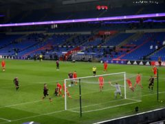Recent Wales matches at Cardiff City Stadium have been played behind closed doors (David Davies/PA)