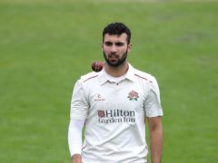 Saqib Mahmood bowled Lancashire to victory over Yorkshire (PA Wire/Martin Rickett)