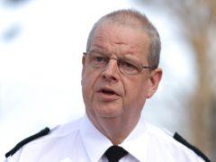 PSNI Chief Constable Simon Byrne (Liam Burney/PA)