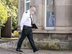 PSNI Chief Constable Simon Byrne (Liam McBurney/PA)