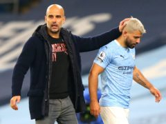 Pep Guardiola said there would be no room for sentiment in the final weeks of Sergio Aguero's Manchester City career (Alex Livesey/PA)