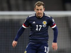 Scotland's Ryan Fraser has not played since March because of a groin injury (Andrew Milligan/PA)