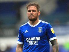 James Norwood scored twice for Ipswich (Adam Davy/PA)