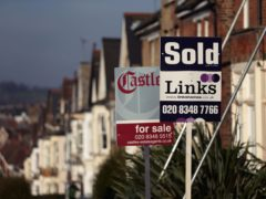 House price growth accelerated across the UK in April amid a slowdown in the supply of homes, according to the Royal Institution of Chartered Surveyors (Yui Mok/PA)