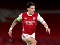 Hector Bellerin is unavailable for Arsenal's game against Brighton (John Walton/PA)