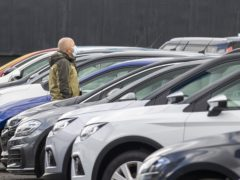 The full recovery of the new car industry 'is still some way off' despite an increase in sales, according to a trade association (Liam McBurney/PA)