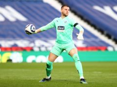 Sam Johnstone has promised the Baggies will not give up (Michael Steele/PA)