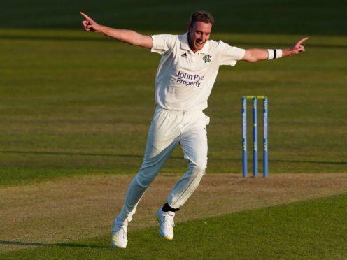 Stuart Broad was on form for Nottinghamshire (Zac Goodwin/PA)