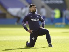 Sergio Aguero is hoping to be fit for Manchester City this weekend (Tim Keeton/PA)