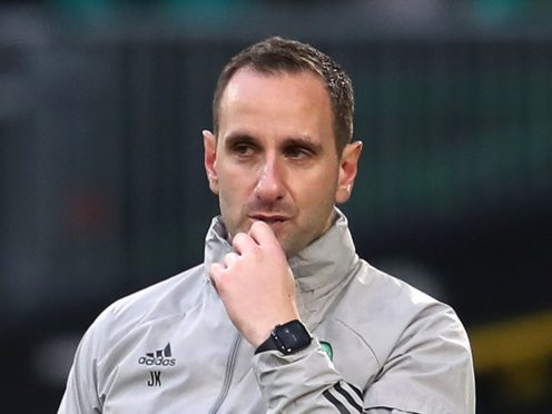 John Kennedy admits enduring a tough time at Celtic (Andrew Milligan/PA)