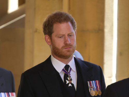 The Duke of Sussex (Chris Jackson/PA)