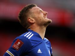 Jamie Vardy was unable to help Leicester finish in the top four (John Sibley/PA)