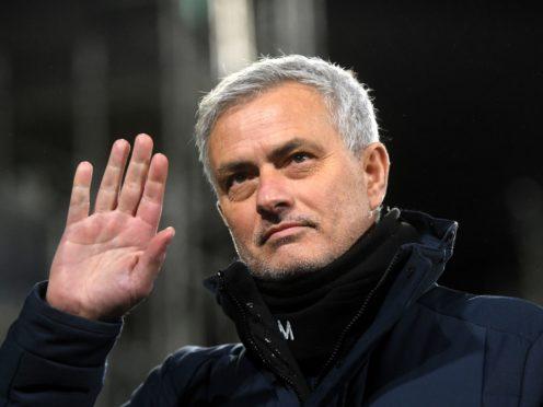 Jose Mourinho will take over as Roma's boss at the start of next season (Neil Hall/PA)