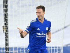 Leicester's Jonny Evans is expected to be fit to face Newcastle on Friday evening (Michael Regan/PA)