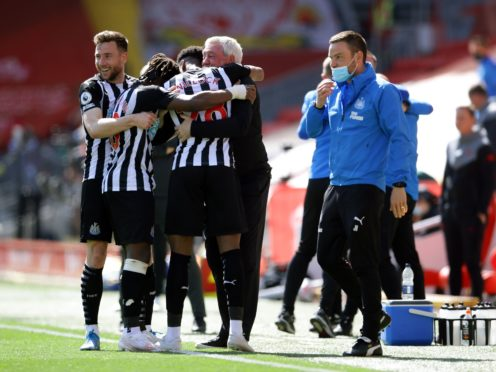 Newcastle have eased themselves out of Premier League relegation trouble with an impressive late-season run (David Klein/PA)