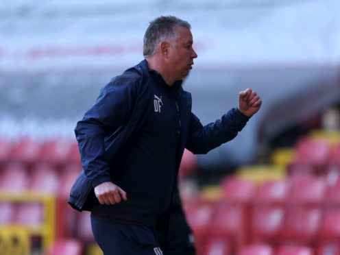 Darren Ferguson was delighted with his Peterborough side (Steven Paston/PA)