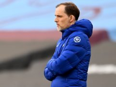Thomas Tuchel, pictured, has guided Chelsea to both the FA Cup and Champions League finals (Andy Rain/PA)