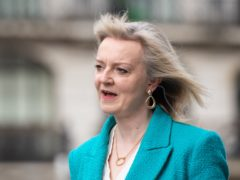 Liz Truss was speaking to MPs on the Commons International Trade Committee (Dominic Lipinski/PA)