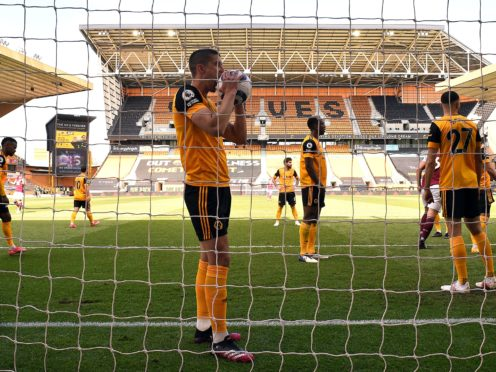 Conor Coady admits Wolves have fallen short this season (Oli Scarff/PA)