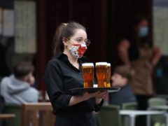 Pubs and restaurants will reopen for indoor service from Monday May 17 (Andrew Milligan/PA)